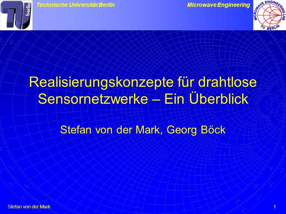 Realisierungskonzepte für drahtlose Sensornetzwerke – Ein Überblick