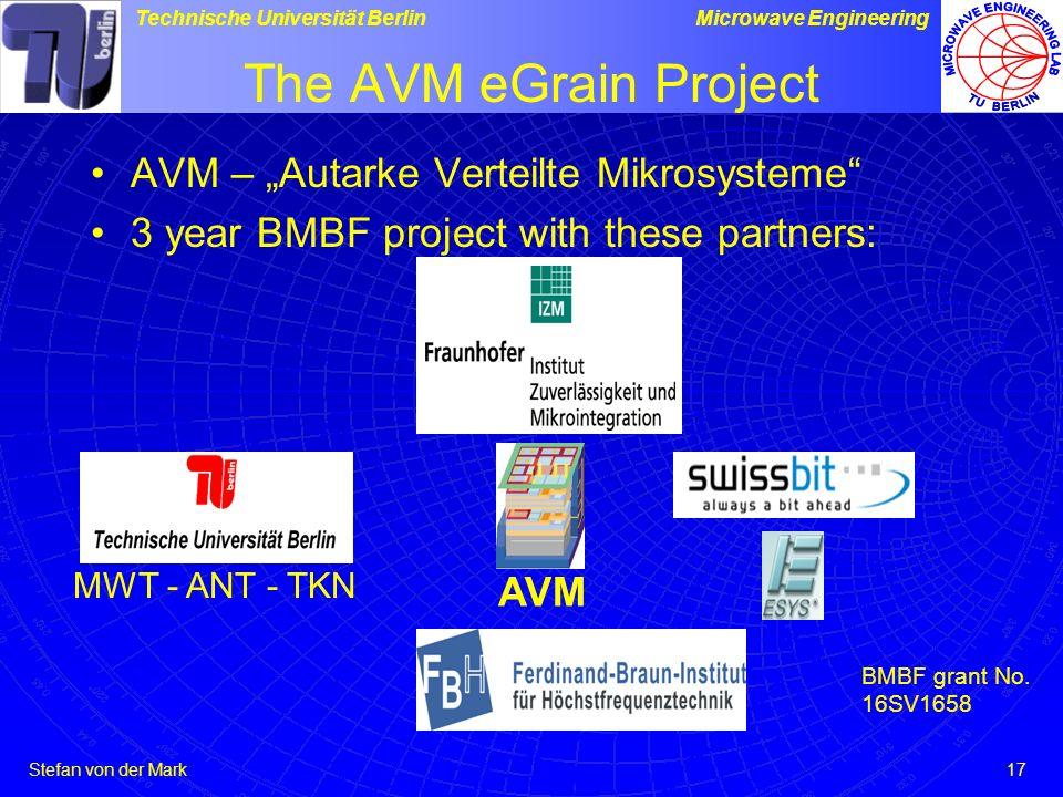 "The AVM eGrain Project AVM – ""Autarke Verteilte Mikrosysteme"