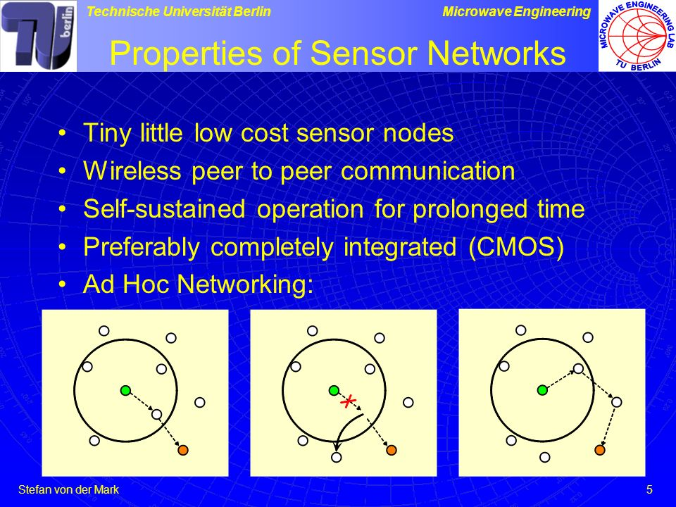 Properties of Sensor Networks