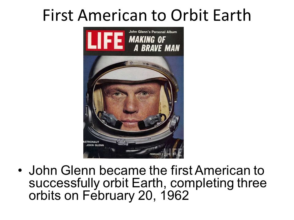 first astronaut to orbit earth - photo #28