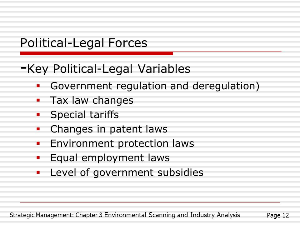 political and legal forces of marketing Political forces: forces in the marketing environment that are shaped by elected (and sometimes appointed) officials that impact the decisions made by a business organization.