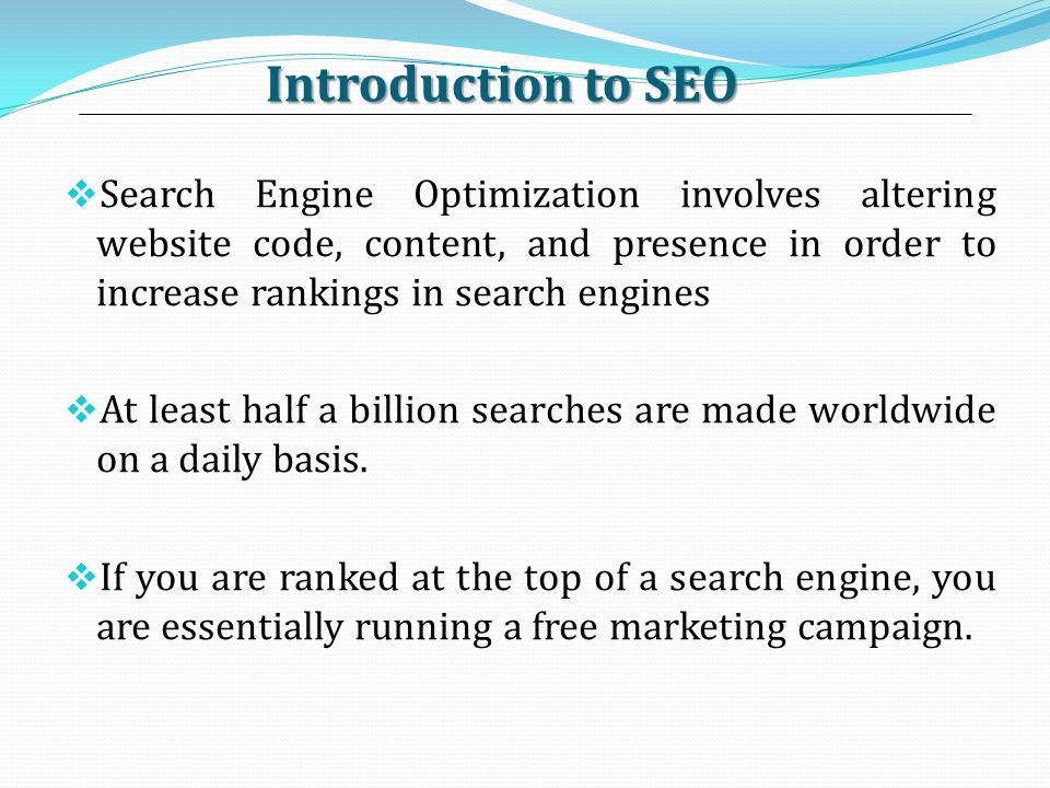 Search engine marketing and search engine optimization