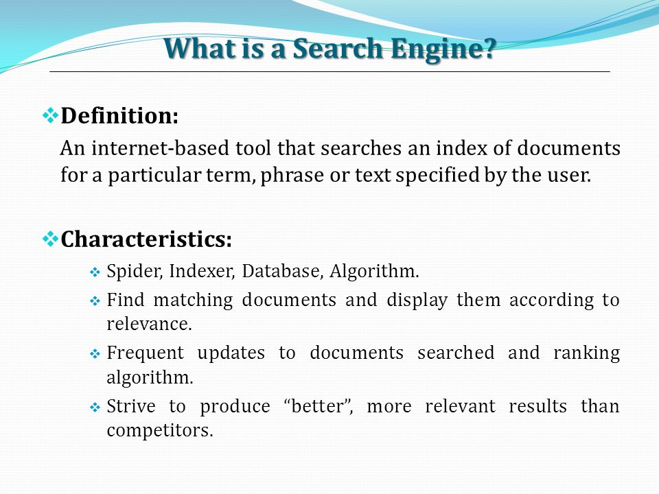 a description of sensiscomau in internet search engines How to search the internet are you unfamiliar with the internet if you want to know how to search the internet, then you have to find the right search engine, type in your search as accurately as possible, and browse through the results.