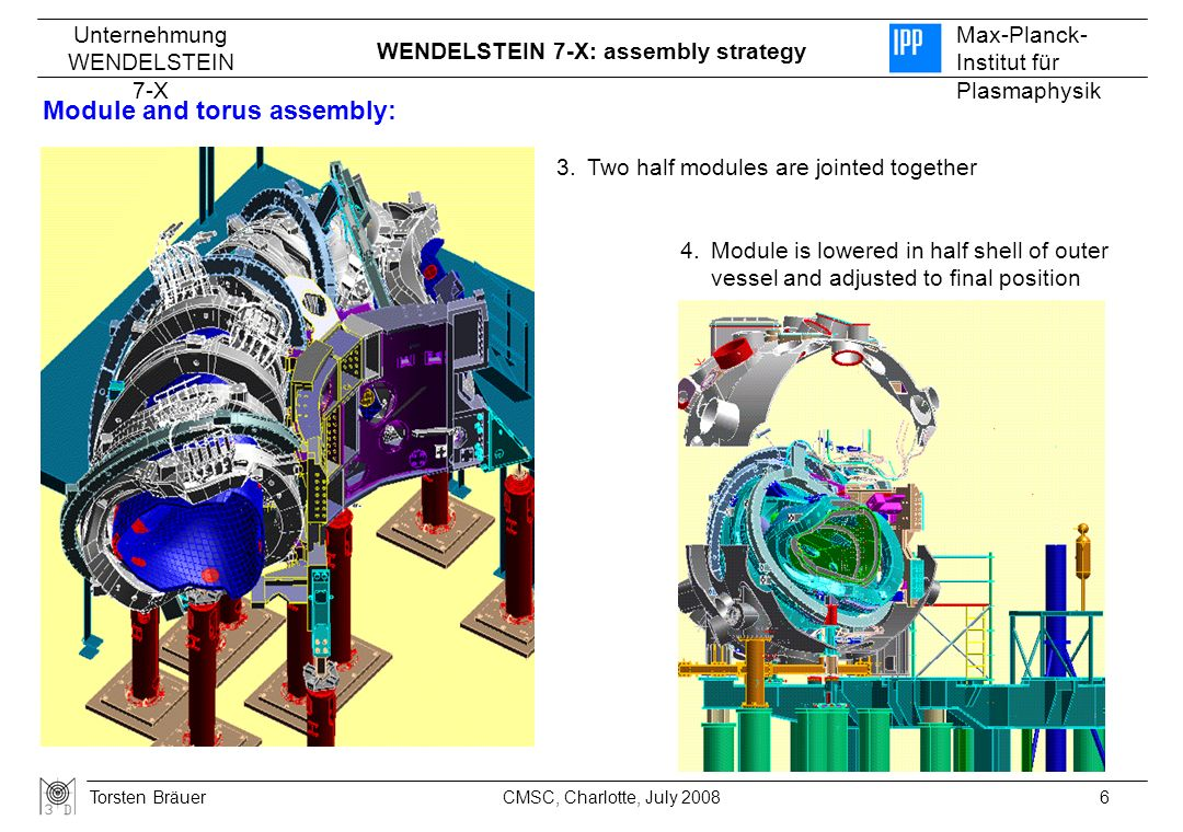 Module and torus assembly: