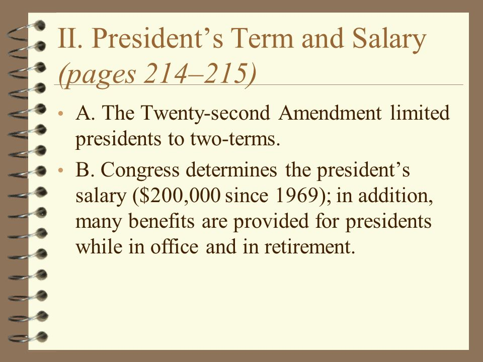 a discussion on the responsibilities of a president of the united states Start studying the 5 constitutional roles of the president and treaties signed by the united states-appointment power: president the role of the president.