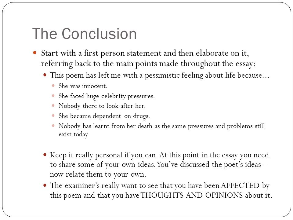How to conclusion before and after essay