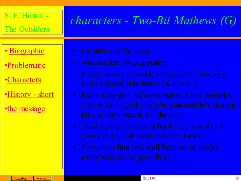 characters - Two-Bit Mathews (G)