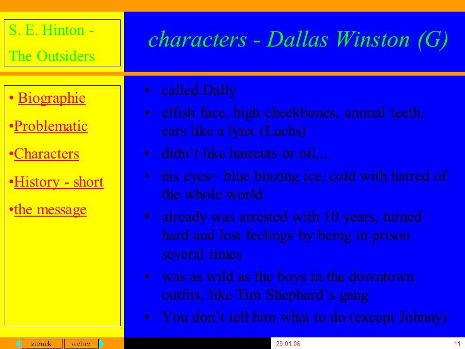 characters - Dallas Winston (G)