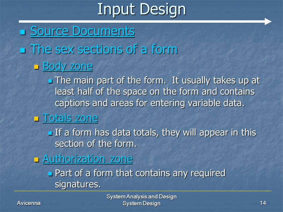 system analysis and design documentation Design documentation package (retained for 75 years) • design analysis • design variance inventory system form • interchange and/or intersection plans.