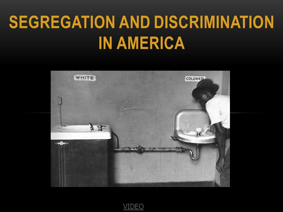 discrimination in america Discrimination term papers (paper 9964) on discrimination in america's past : in our countries past, many minorities have faced discrimination native americans have faced brutal, deadly discrimination now they are all but ex term paper 9964.