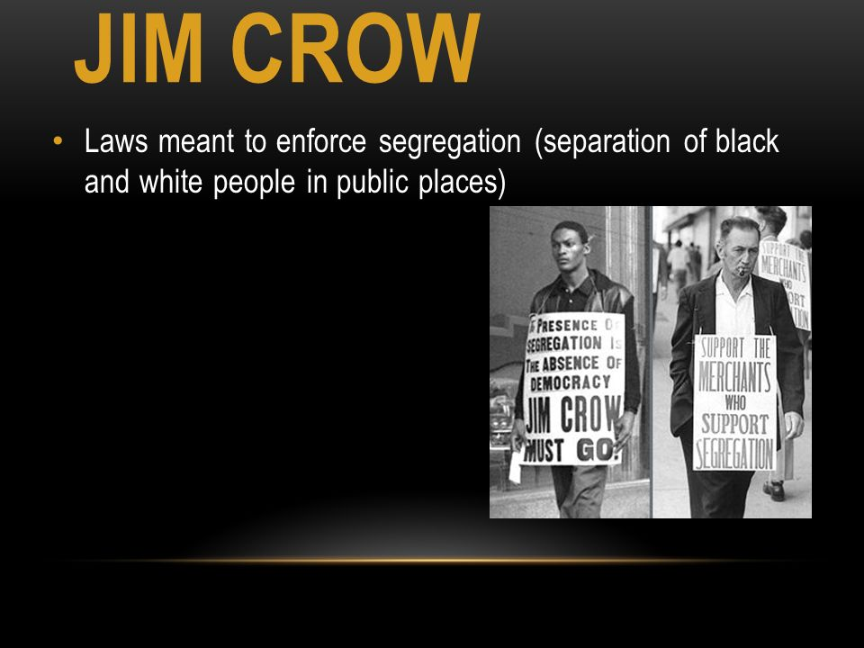 discrimination and segregation Thus the civil rights movement of the 1950s and 1960s was not concerned exclusively with interracial cooperation or segregation and discrimination as a character issue.