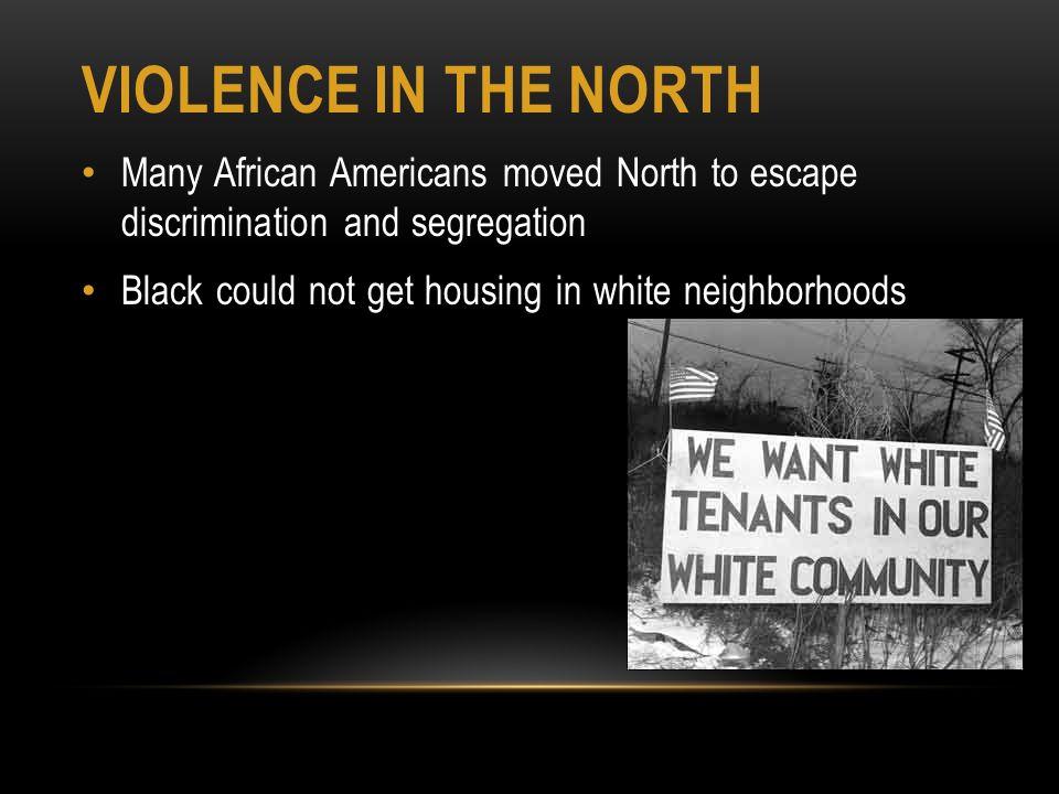 Segregation and Discrimination in America - ppt download
