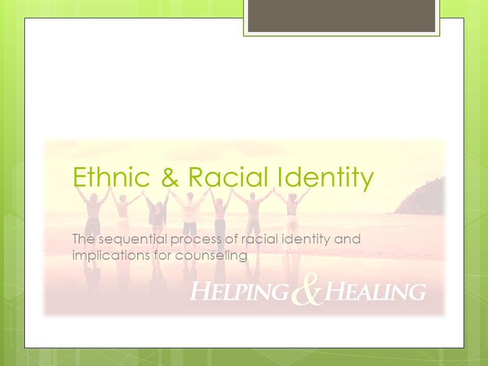 effect of cultural and racial identity on self image Opment of racial, cultural, and ethnic identity and positive self-concepts learning   the impact of oppression on the self-concept of blacks their classic work.