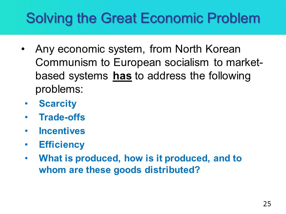 economic problems solved by various societies economics essay Economics essay - economics to america's economic interests because the various methods and productively solve some economic problems such.