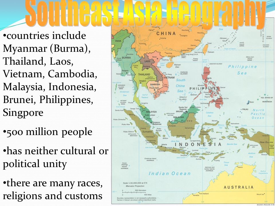 Southeast Asia Geography