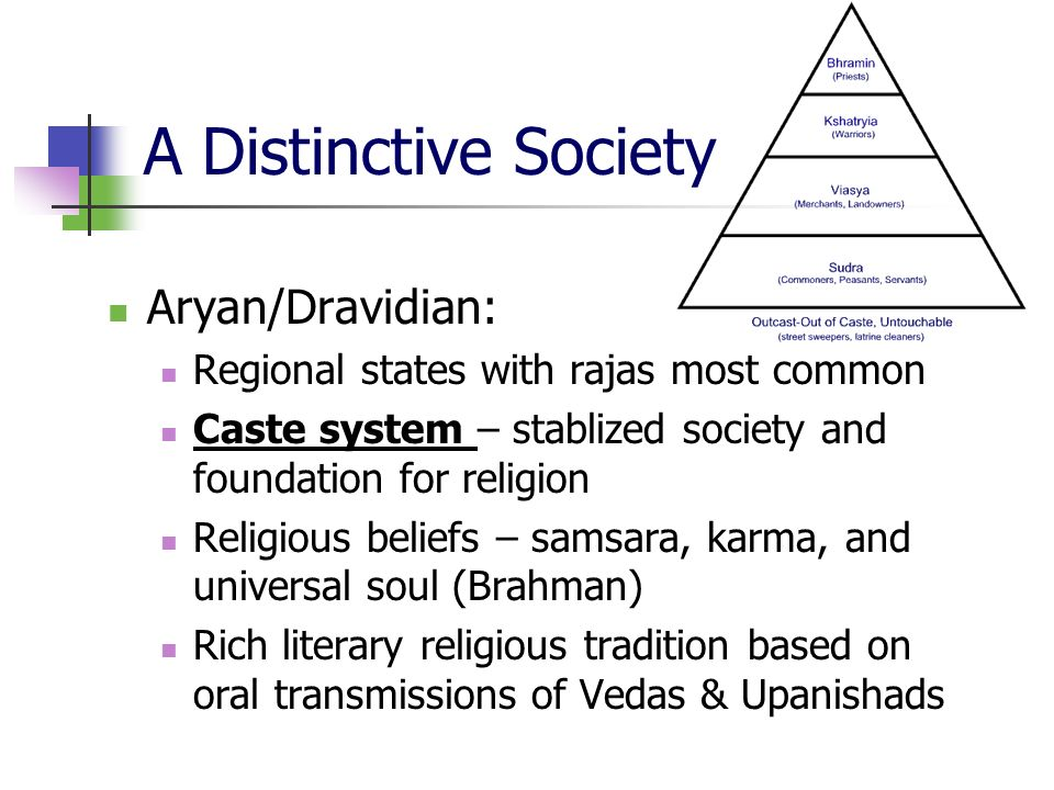 caste system and religion of aryans This cannot be identified in isolation by language only or by religion  division of  the then community based caste system was recognized or.