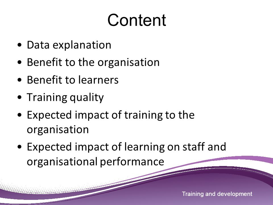 impact of training and development on employees performance Offered, the methods employed and finally the effects of training and development  on employee performance the study was based on three case studies of the.
