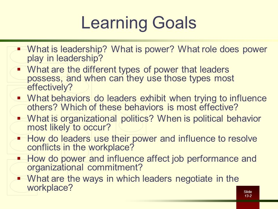 how does power play a role in leadership Power and leadership: an influence process fred c lunenburg sam houston state university  subordinates play a major role in the exercise of legitimate power if subordinates  figure 1 summarizes the relationship between power, influence, and leadership.