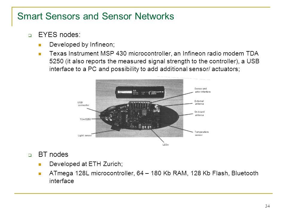 Smart Sensors and Sensor Networks - ppt download