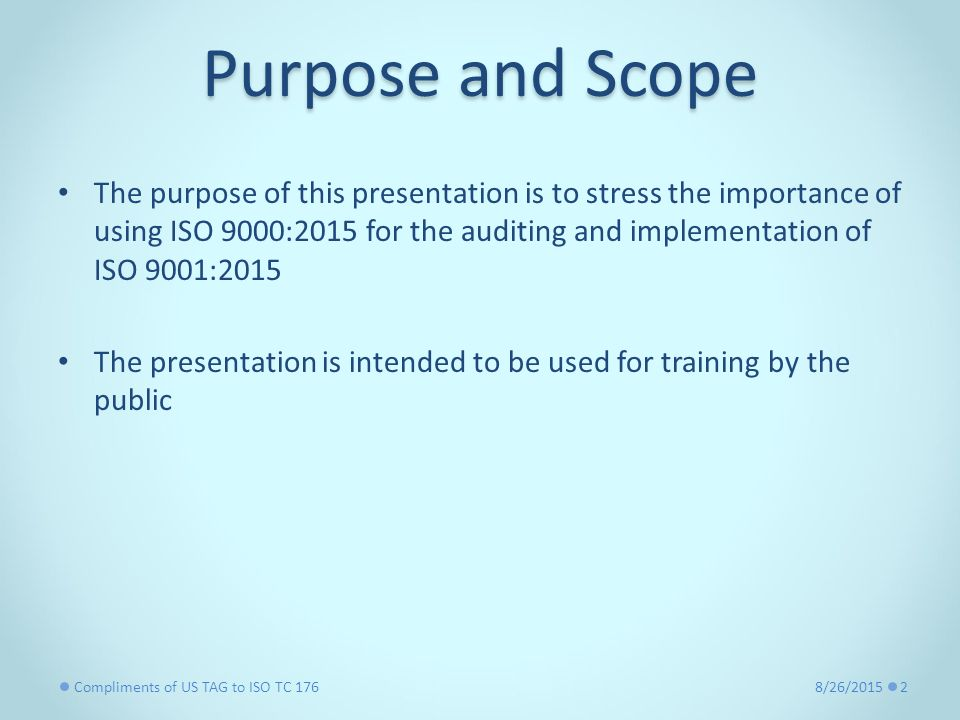 Normative Reference for ISO 9001: ppt video online download