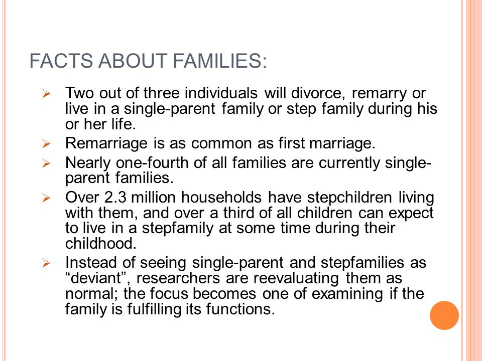 divorce and single parent families Parent families it is crucial to streamline the organization of your time, responsi-  as a single parent can be challenging, but by planning ahead, staying organized, and keep-  situation, such as separation, divorce or death, will challenge your child—these experiences are valuable growth opportu-nities, helping your child learn.