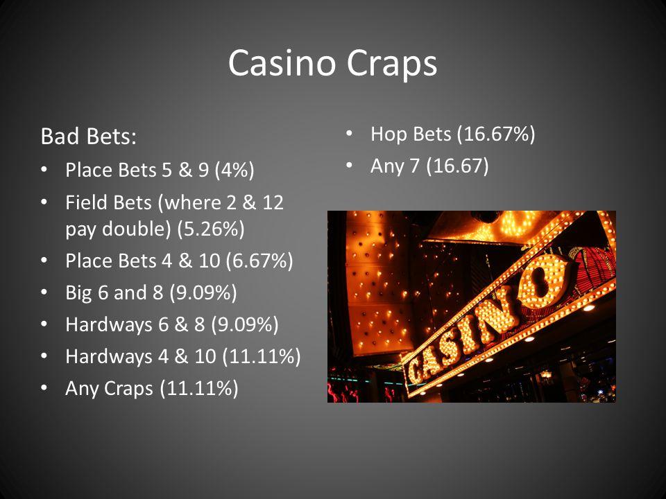Craps ten times odds