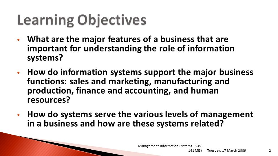 Management Information Systems Ppt Download