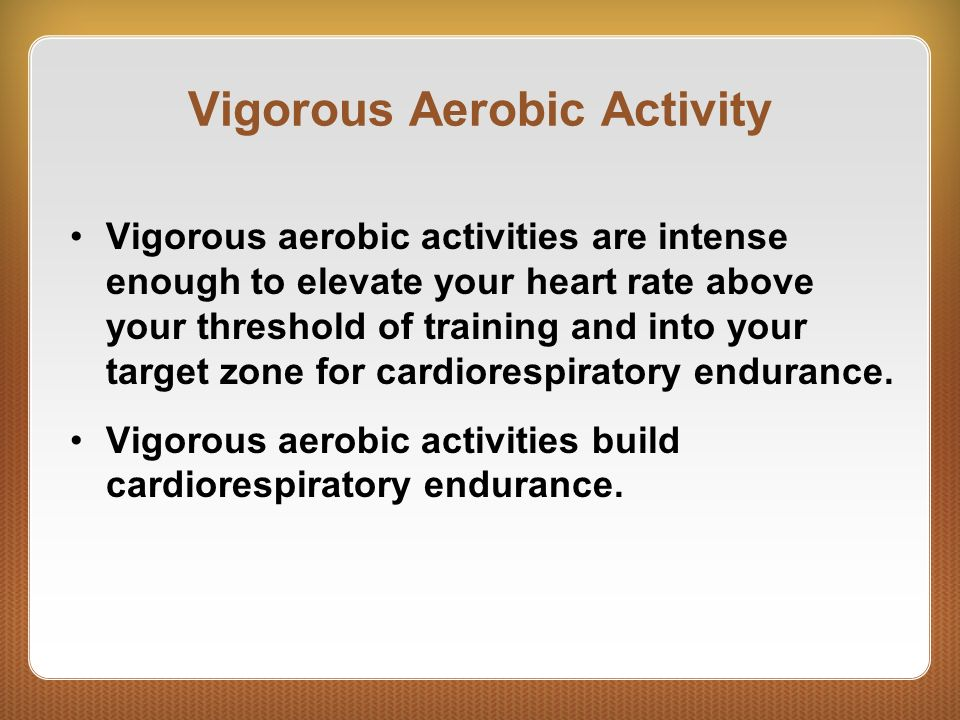 Building cardiorespiratory endurance ppt video online for Rate your builder