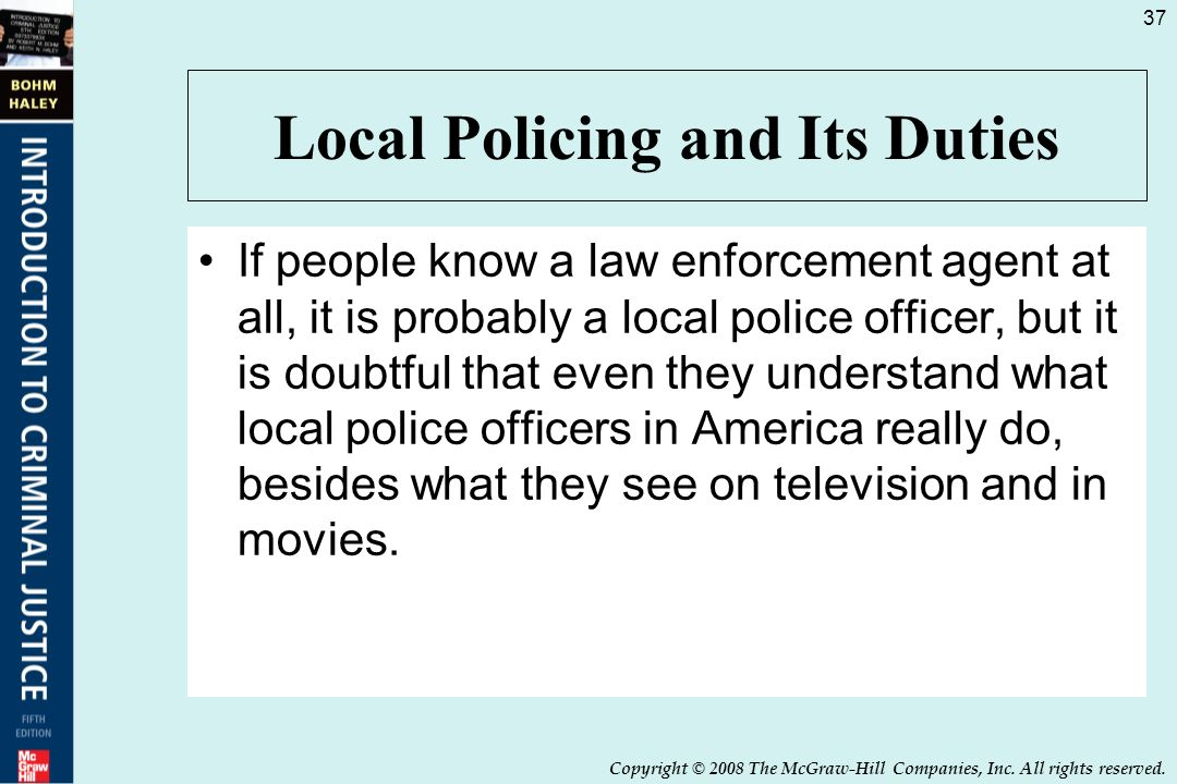 roles and duties of police officers law essay Police follow the united states constitution when performing their duties as peace officers  police misconduct rules police have to follow  of law you have.