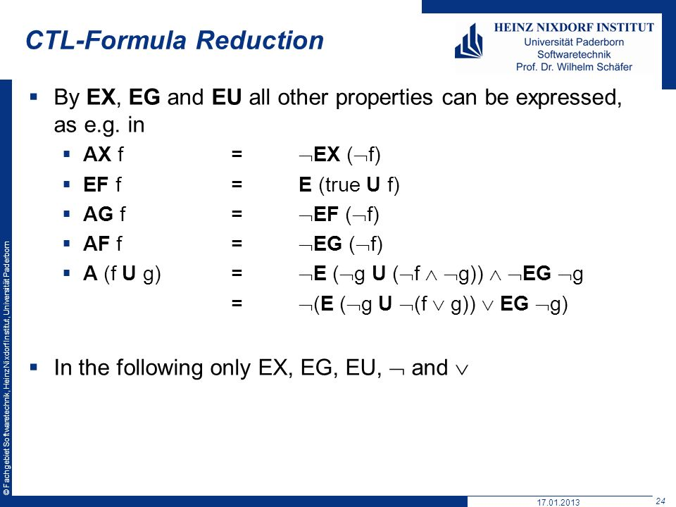 CTL-Formula Reduction