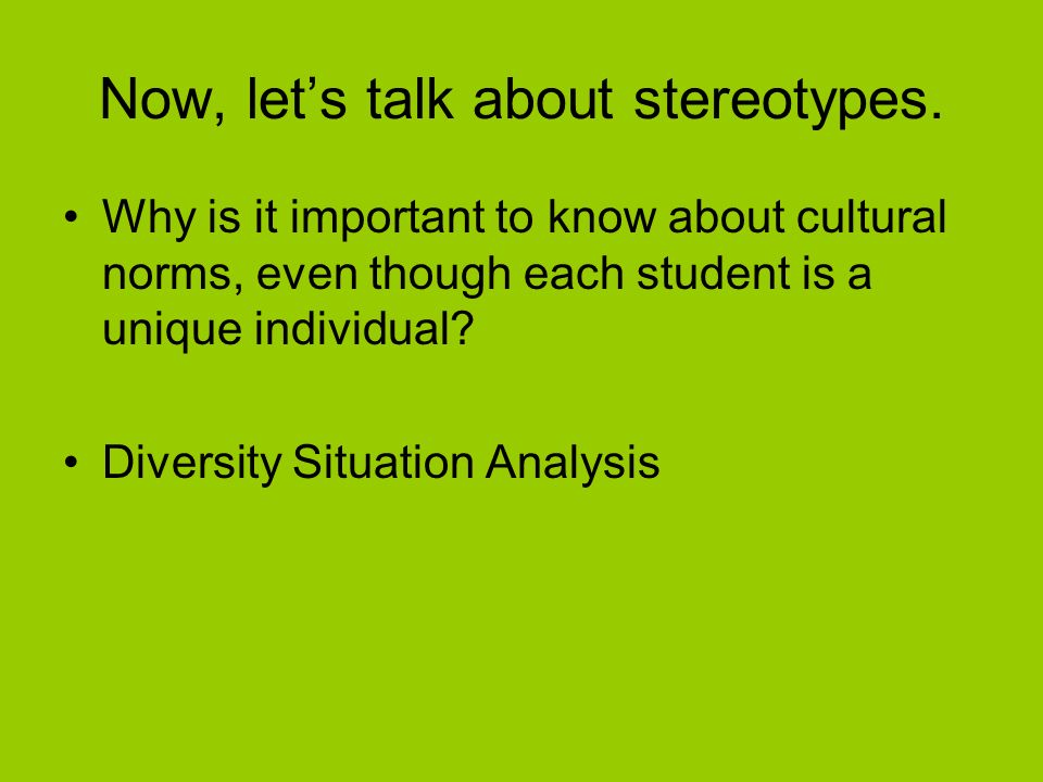 Addressing Cultural Differences In The Classroom Ppt