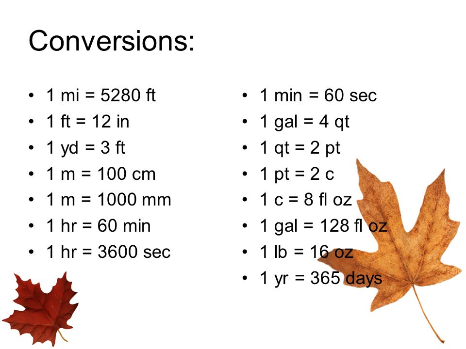Conversions 8th Grade Math. - ppt video online download
