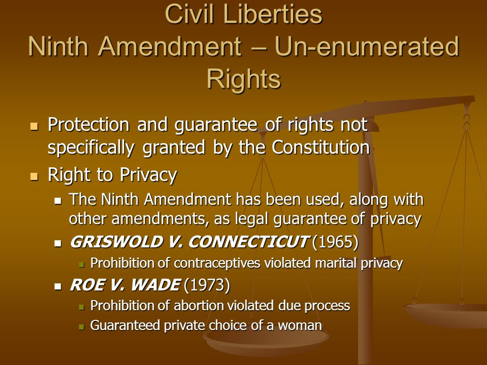 constitutional right to privacy For three decades, the right to privacy has served as a constitutional limit on  governmental power despite the importance of this doctrine and.