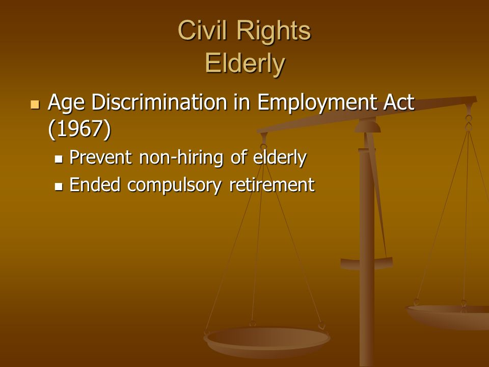Age discrimination act of 1967 essay writer