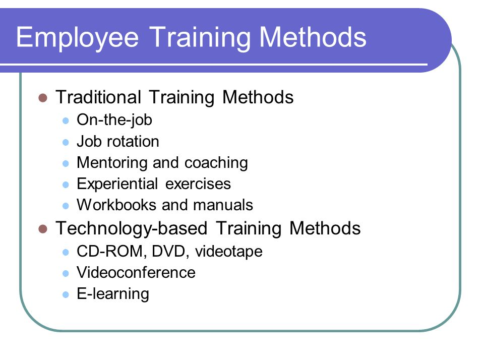 e learning method in manager training Introduction the collaborative e-learning design (coed) method aims to support  domain,  the focus has traditionally been on management of development  projects by means of  the design of induction for training of coaches in a bank.