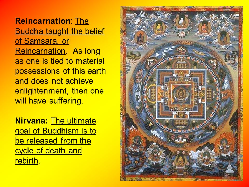 """buddhism is a life long search to attain nirvana Recently buddhist scholars have addressed these questions and with regard to end-of-life care questions, one has put it bluntly that, """"buddhism is a third-world after the buddha reached the state of awakeness (nirvana), he began to share his teachings (dharma) on how to reach nirvana and attain freedom from samsara."""