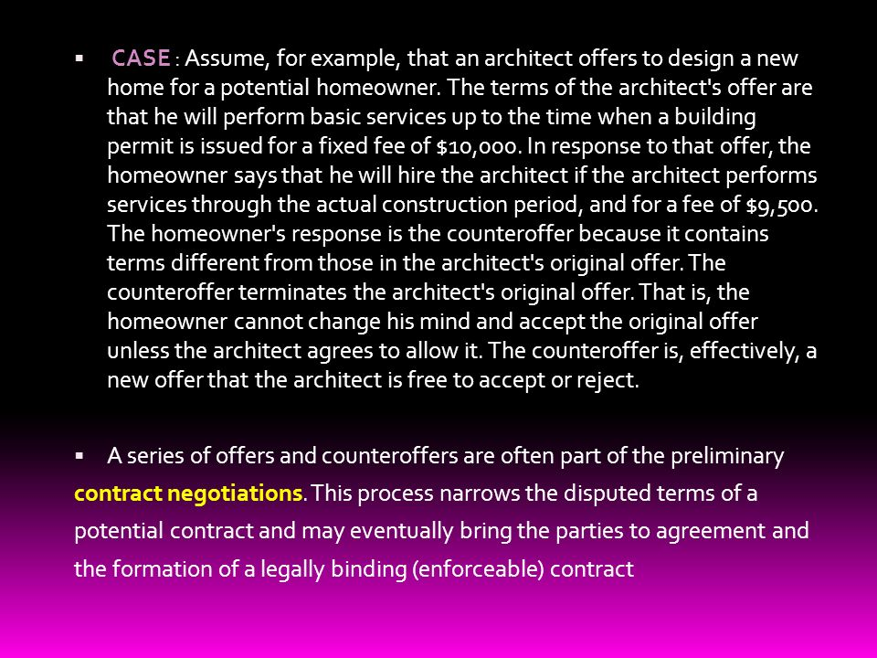 Basic contract law a contract is a promise that the law will 5 case assume platinumwayz