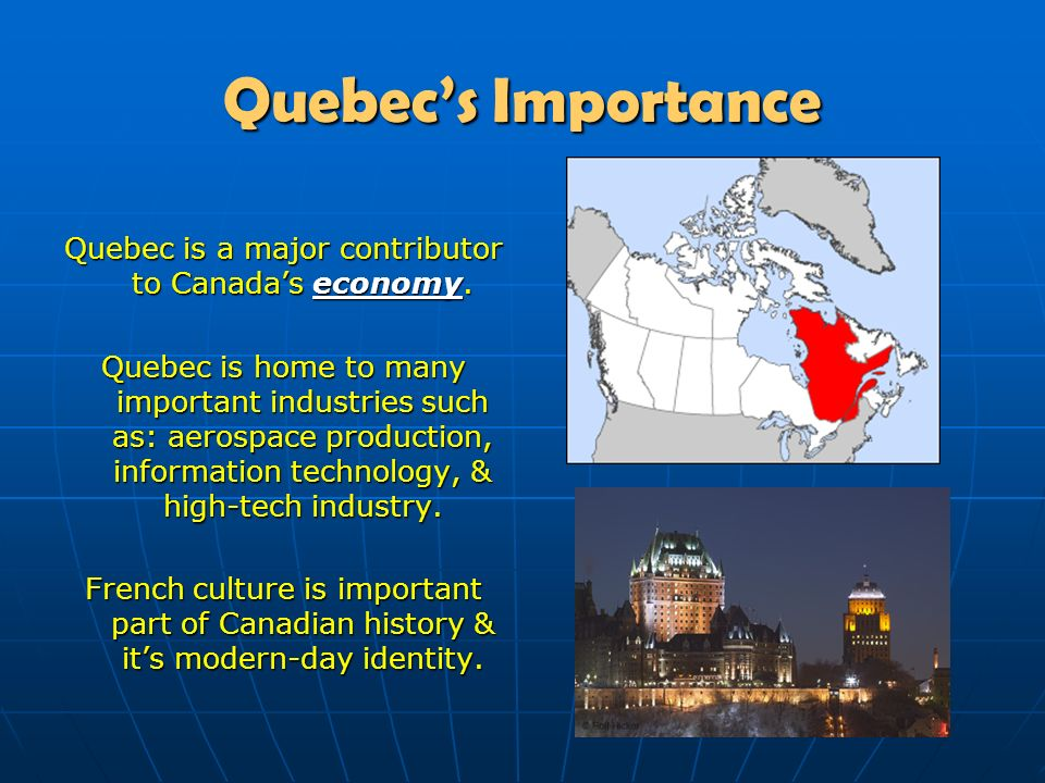 """french speaking canadians in the province of quebec history essay The canadian province is debating whether to prohibit public employees  """" from a historical perspective, quebec was a very religious society for a very long  time  last february, agents from quebec's office of the french language   customers with paper coasters printed with the phrase, """"canada's no."""