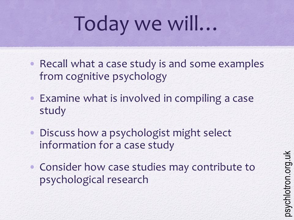 educational psychology case study examples