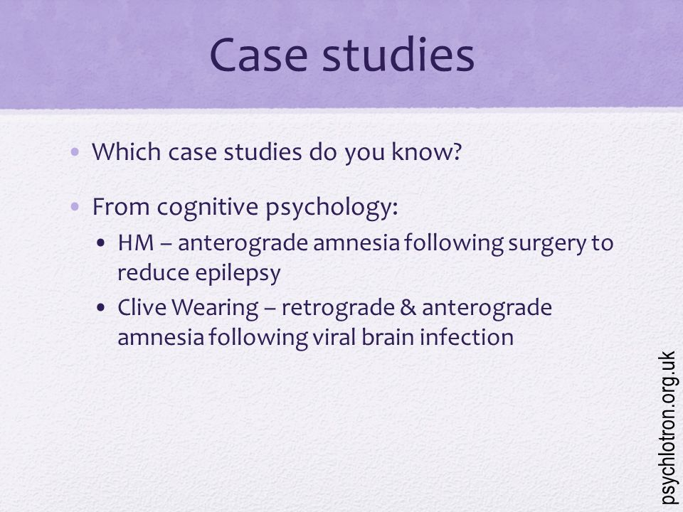 What Is A Case Study In Psychology?
