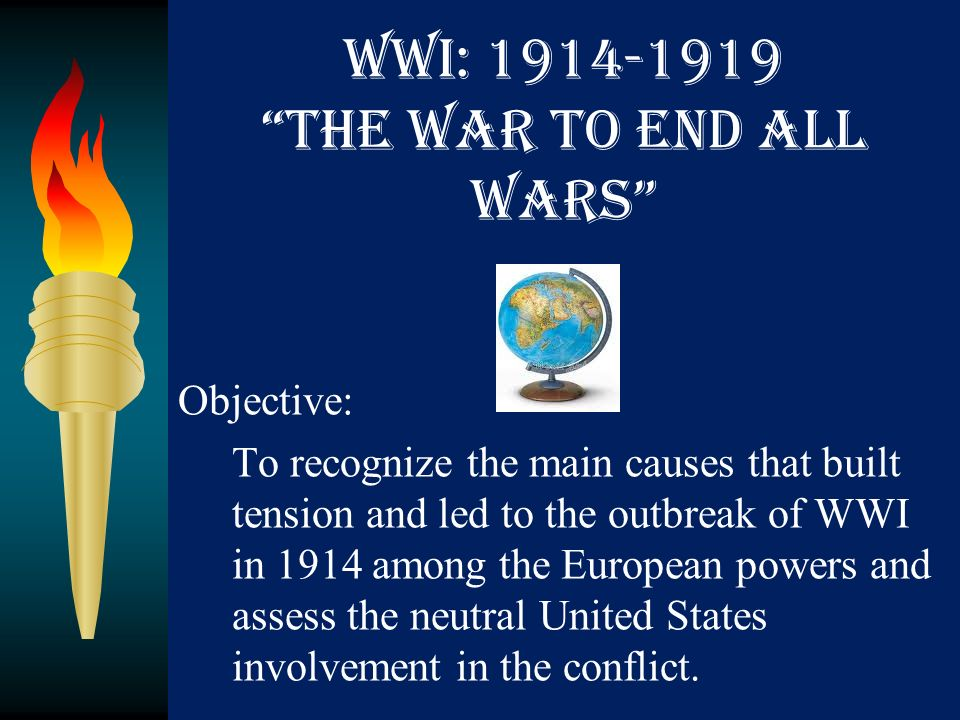 the reasons for the united states involvement in wwi The united states, led by president woodrow wilson, did not want to be involved in world war i when wilson ran for re-election in 1916, his campaign slogan was he kept us out of the war .
