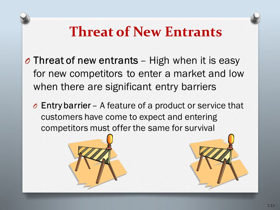 threat of new entrants to a marke Mcknight's pub irish pub bar business plan market analysis summary  making the threat of new entrants to the market very real.