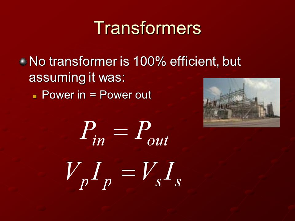 efficiency of step down transformer biology essay Term paper warehouse has free essays, term papers, and book reports for students on almost every research topic.