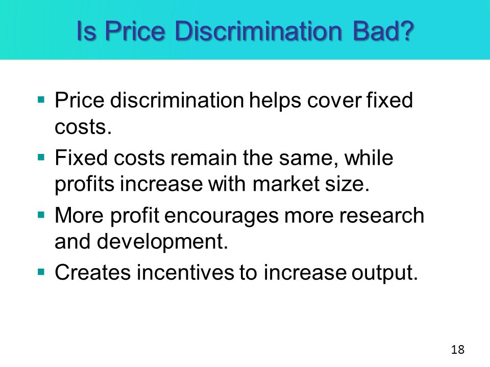 term paper price discrimination In this paper, motivated by several anecdotal ac- counts, we report on a on future  research on the topic of price discrimination [24] free sample research paper.