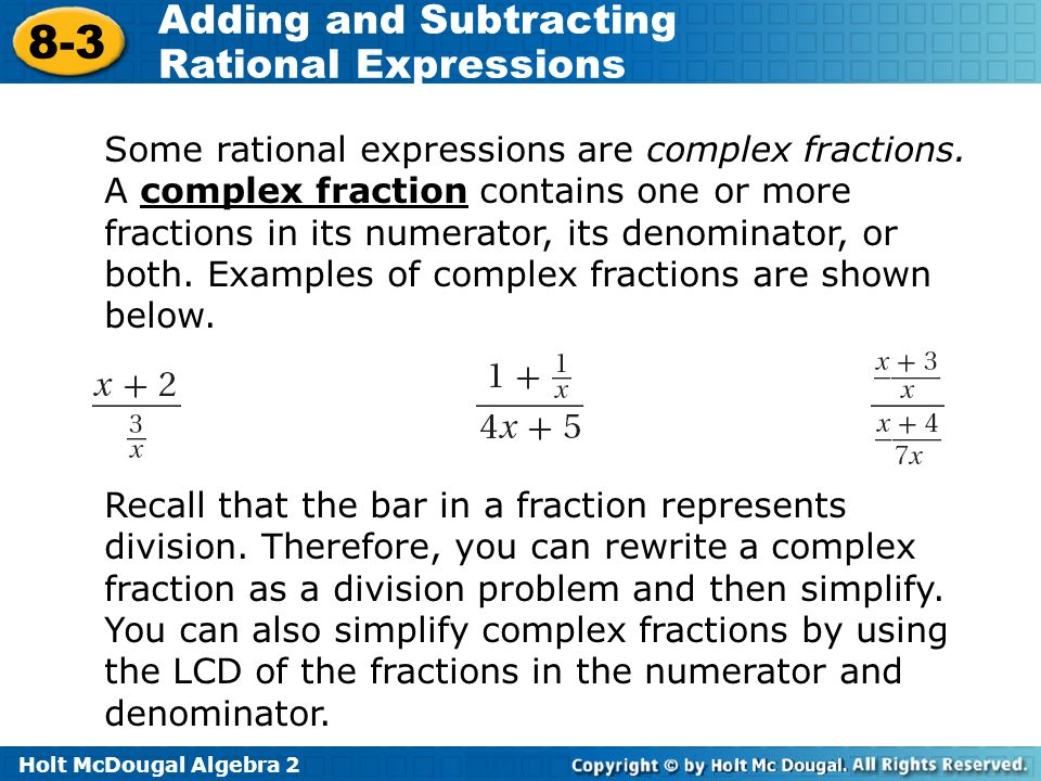 Writing Division Expressions