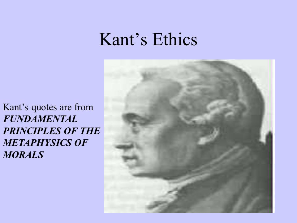immanuel kant and ethical dilemma Moral issues in business focusing on kant's duty-based ethics immanuel kant is probably one of the most prominent figures ethical issues in.