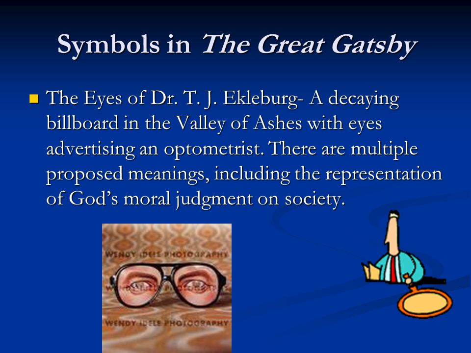 an analysis of the symbolism in fscott fitzgeralds the great gatsby
