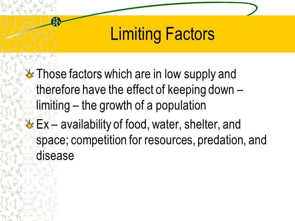 Pictures Limiting Factors Worksheet - Signaturebymm