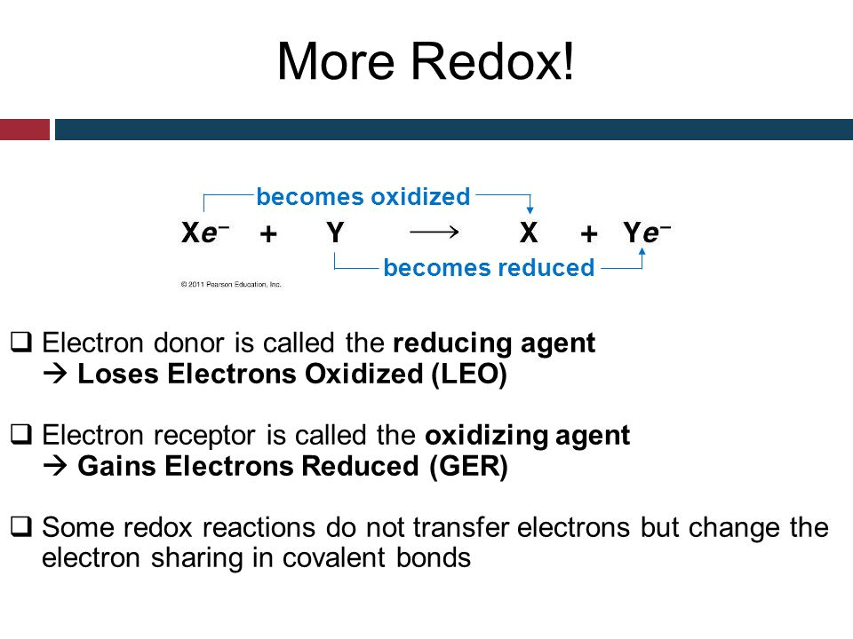 how to know if a cofactor is an oxidizing agent
