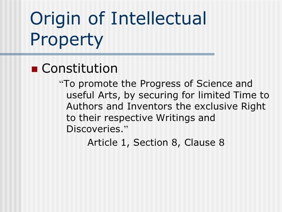 types of intellectual property rights pdf